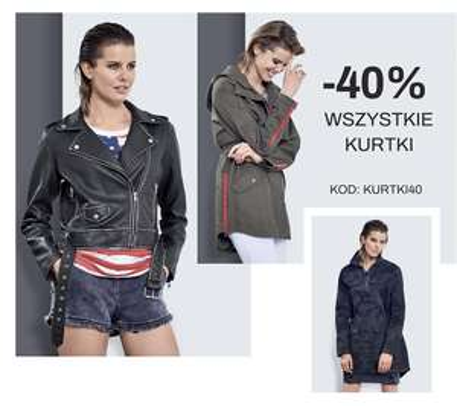 -40% wszystkie kurtki