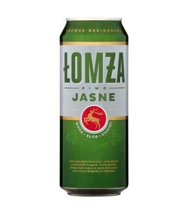 Piwo Łomża Jasne puszka 8 x 500ml w NETTO