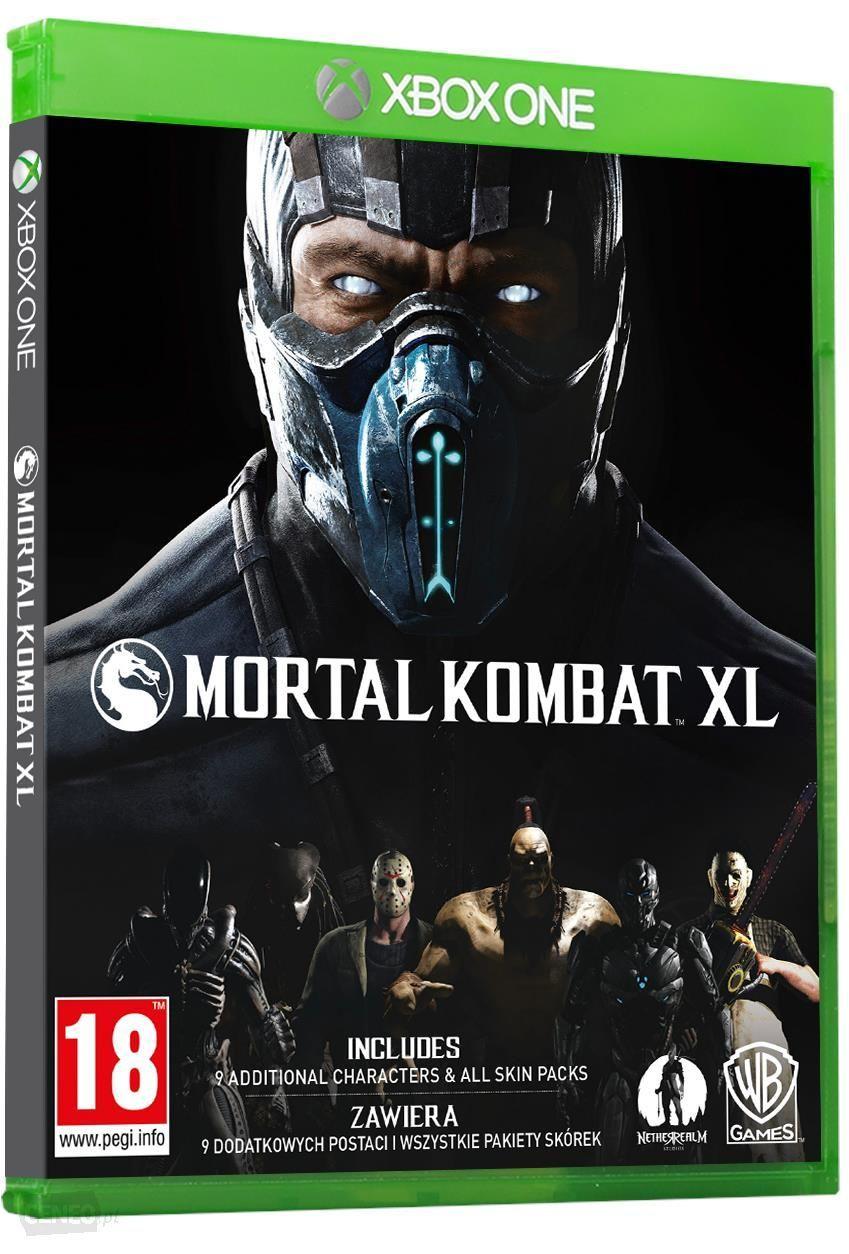 Mortal Kombat XL Xbox One z amerykańskiego MS