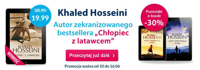 """Książki Khaleda Hosseiniego (min. """"Chłopiec z latawcem"""") (eBook) 30% taniej! @ Virtualo"""