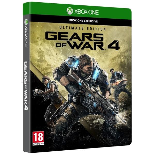 Błąd cenowy - Gears of War 4 Ultimate Edition ze steelbookiem na XBOX One za 59,99 zł w Mediaexpert oraz Electro