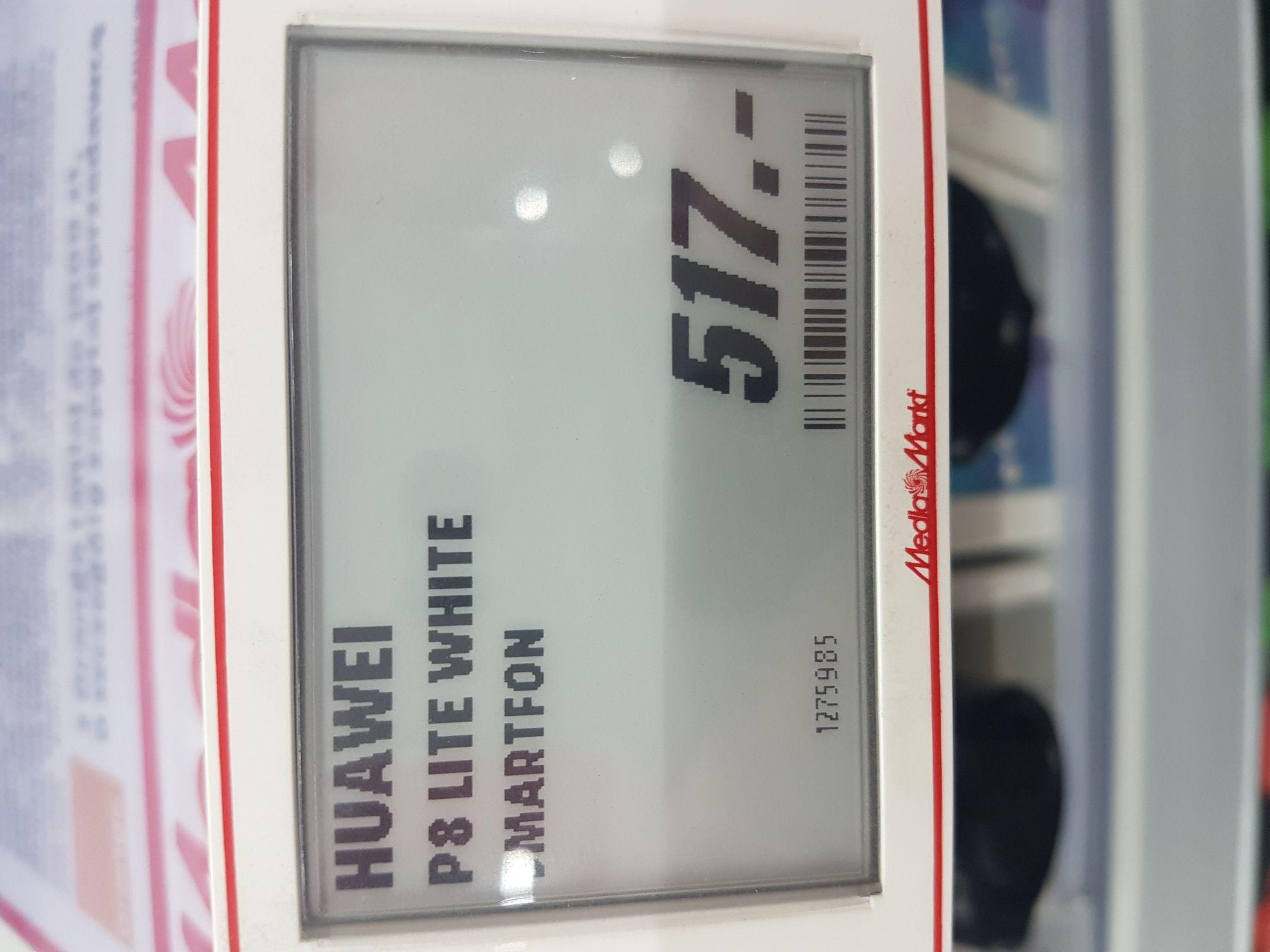 Huawei p8 lite white Media Markt Elbląg
