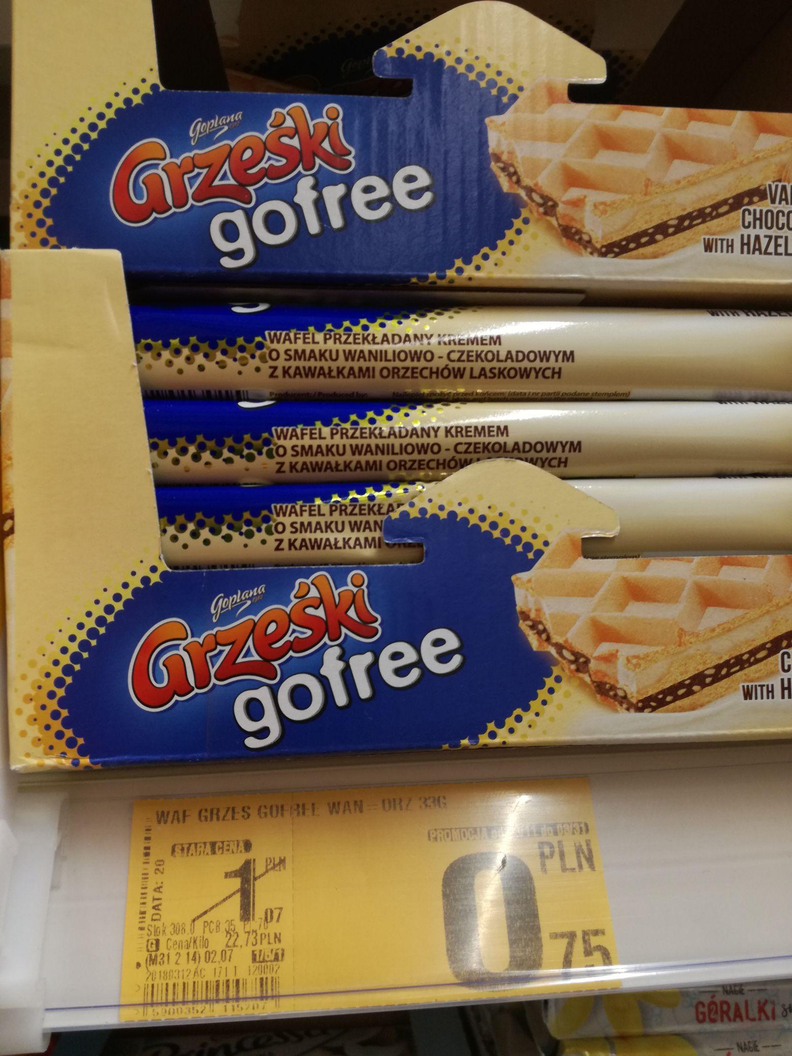 Grześki Gofree Auchan