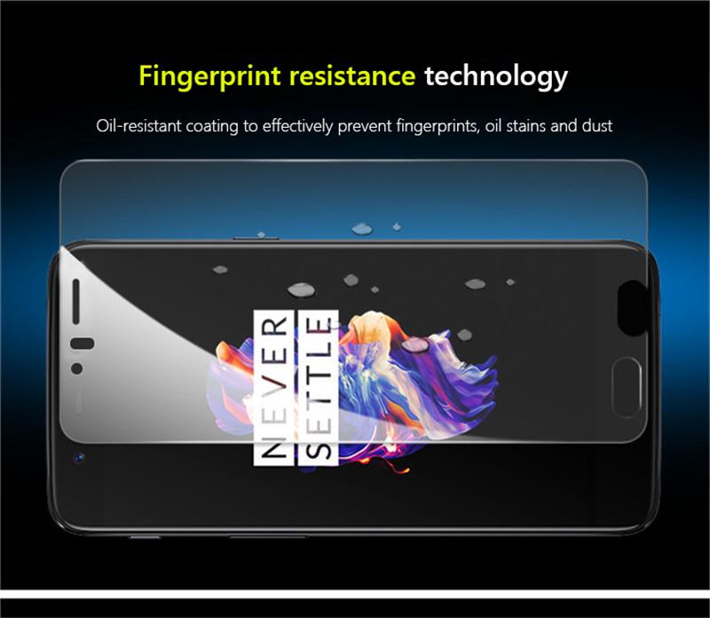 Czarny silikon i szkło na ekran za 0,99$ do OnePlus 5