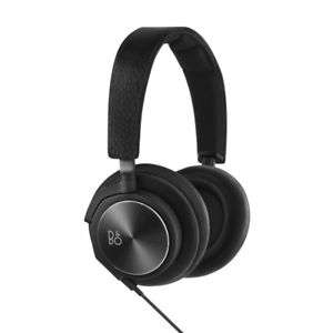 B&O Play BeoPlay H6 Over Ear Headphones - Black Leather Gen 2 (Manufacturer refurbished)