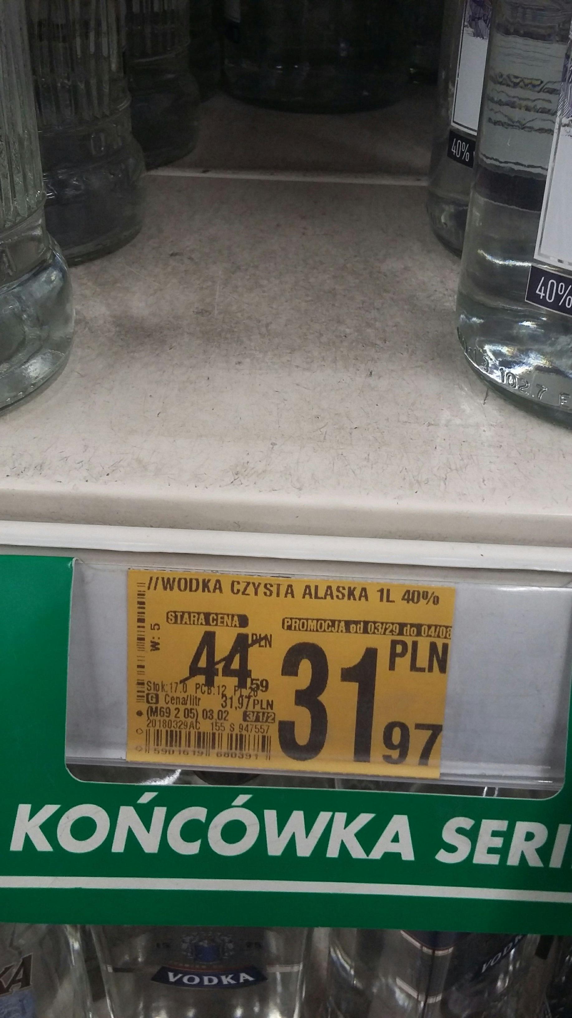 Wódka Alaska 1L Auchan