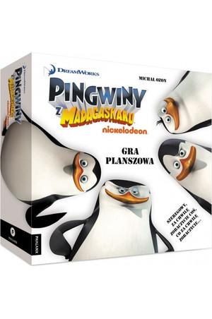 Gra planszowa dla dzieci Pingwiny z Madagaskaru @merlin