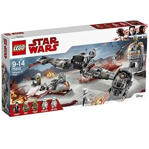Klocki LEGO Star Wars Obrona Crait 75202