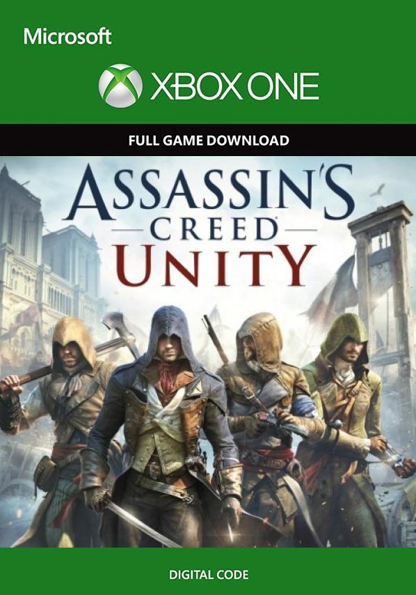 Assassin's Creed Unity Xbox One - SAM KOD!! (bez pudełka)