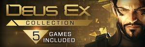 Seria gier The Deus Ex Collection na Steam