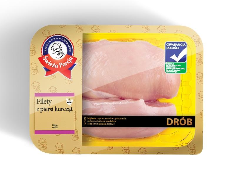 Filet z piersi z kurczaka 11,98zł za 1kg @ Lidl