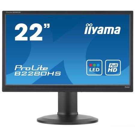 "Monitor LED Full HD 21.5"" Iiyama Prolite B2280HS-B1DP @ emag.pl"
