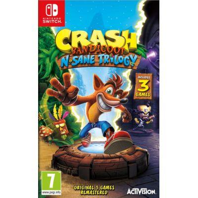 Preorder Crash Bandicoot N Sane Trilogy Nintendo Switch