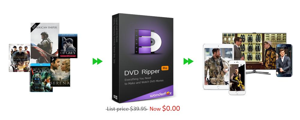 WonderFox DVD Ripper Pro 7.4 w pełnej wersji za darmo