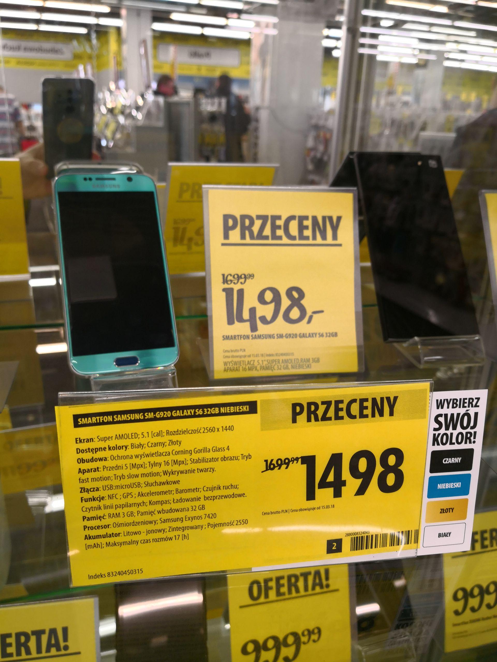 Samsung S6 w dobrej cenie + inne