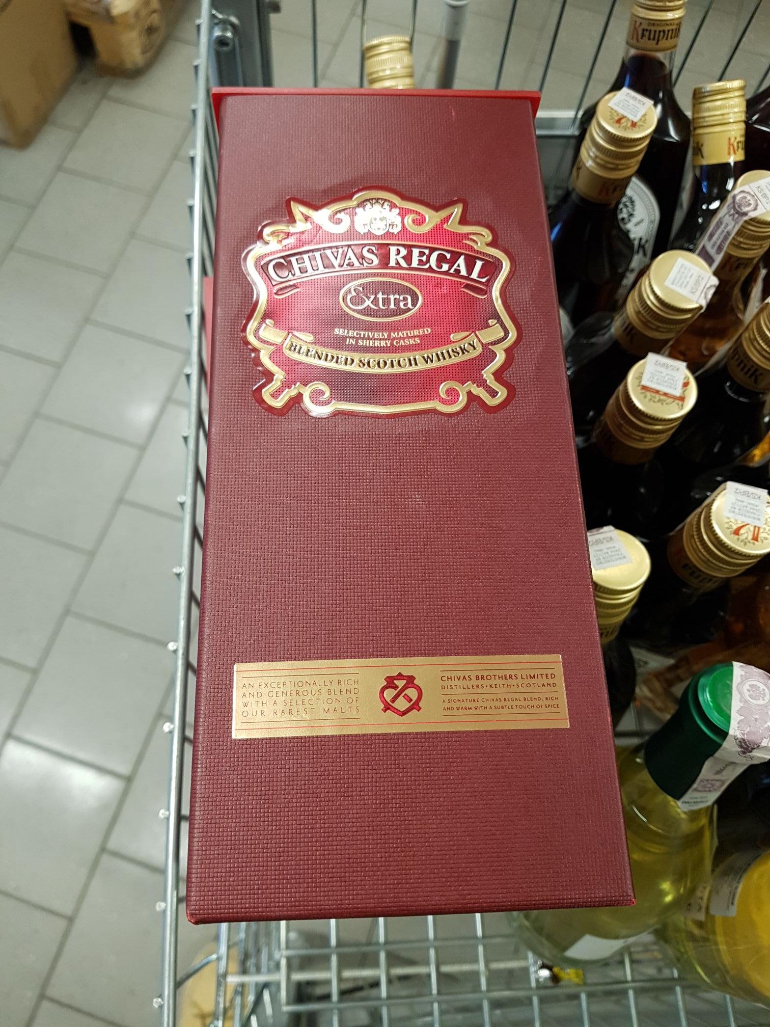 Whisky Chivas Regal Extra 0.7L @Netto