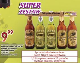Piwo Połczyńskie 5 butelek 0,5L za 9,99zł @ Piotr i Paweł