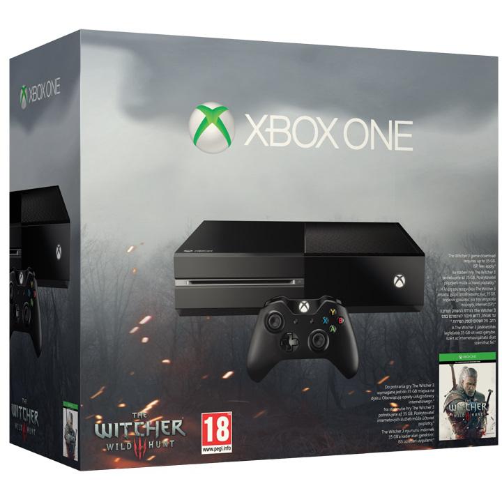 Konsola Xbox One + Wiedźmin 3 Dziki Gon @ Agito