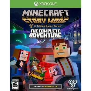 Minecraft Story Mode Complete Adventure Xbox One za 23,99zł CdKeys