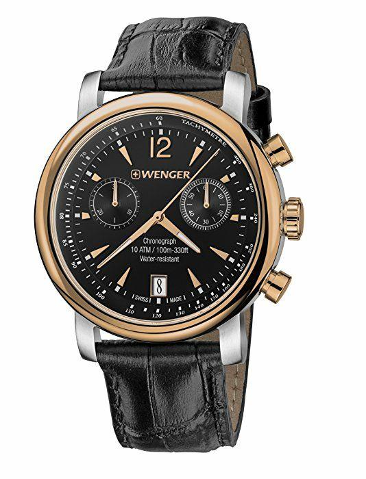 Zegarek Wenger z Chronografem