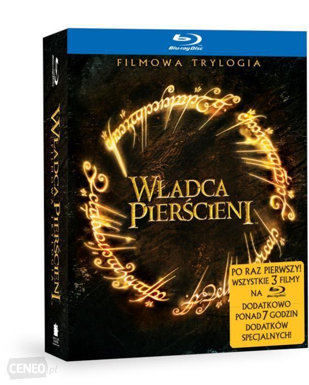 Trylogia Władca Pierścieni Blu-Ray+ DVD