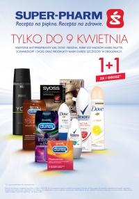 1+1 za grosz na wybrane antyperspiranty, farby do włosów i markę Durex @ Super-Pharm