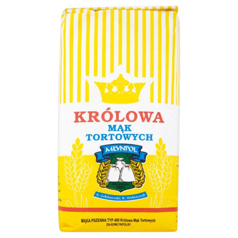 Królowa Mąk Tortowych, mąka pszenna tortowa T-400, 1 kg - 1,15 zł @ Kaufland