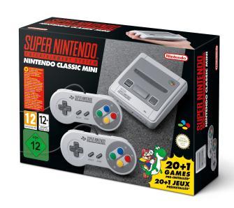 Super Nintendo (SNES) Classic Mini za 289zł z dostawą (21 gier, 2 pady) @ OleOle!