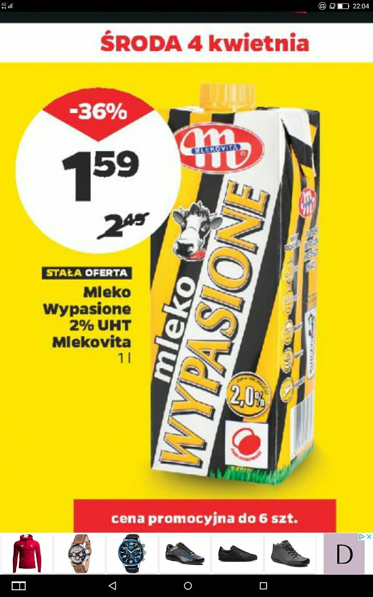 Mleko Wypasione  2% za wypasioną cenę !!!