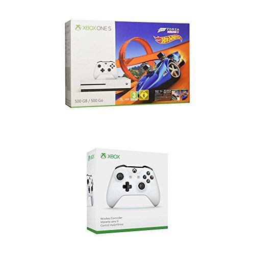 Konsola Xbox One S 500 GB w edycji Forza Horizon + dodatkowo pad do konsoli