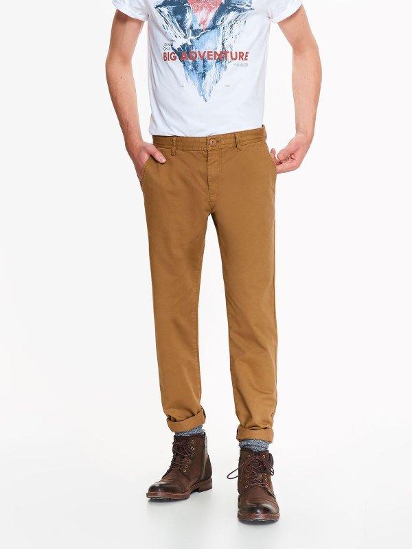 Męskie spodnie - chinosy, pełna rozmiarówka (+ inne modele) @ Top Secret