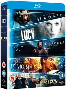 47 Ronin + R.I.P.D. + Immortals + Dracula Untold+ Lucy na Blu-ray @ ZOOM