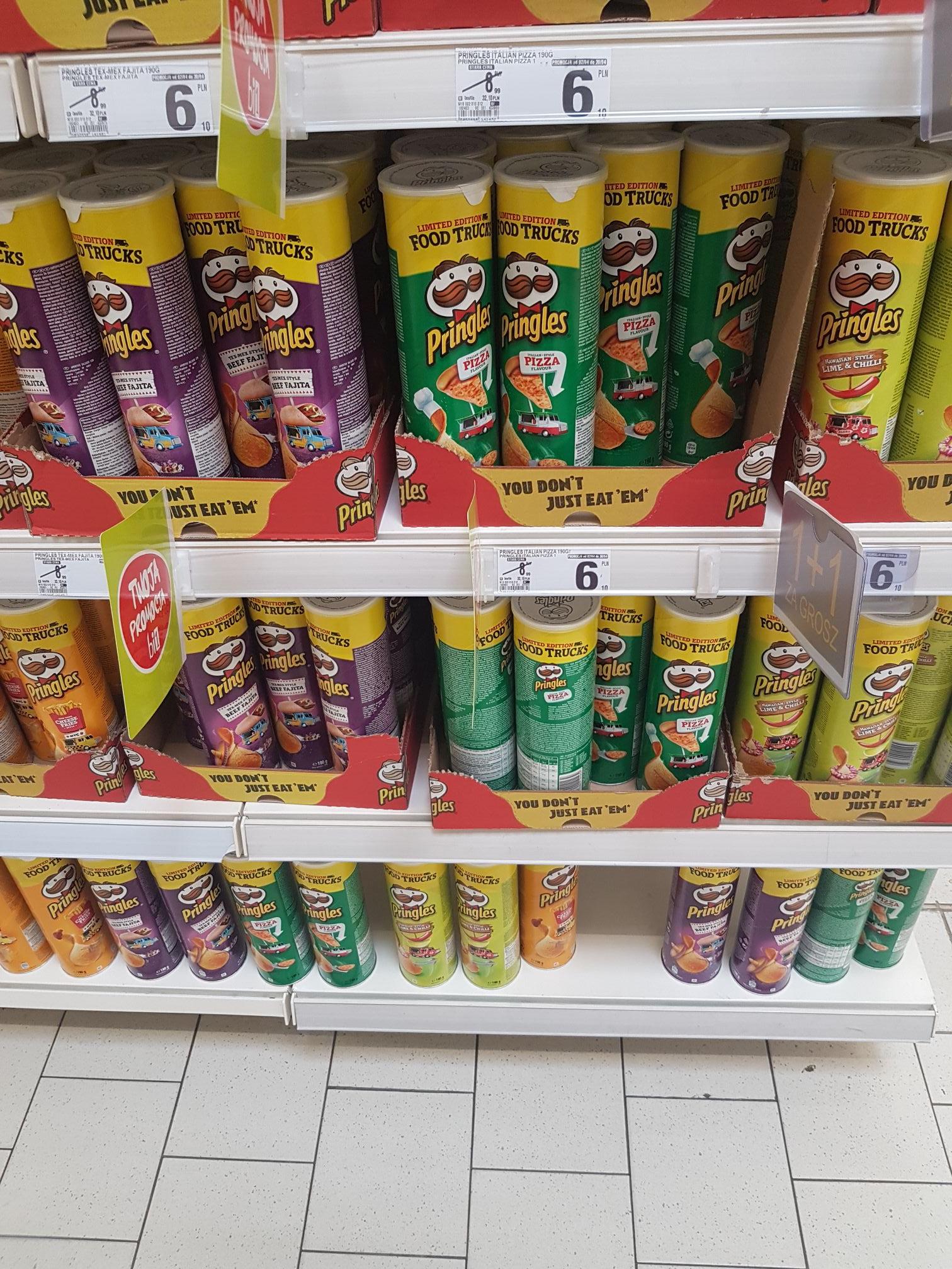 Pringles 1 + 1 za grosz @ Bi1