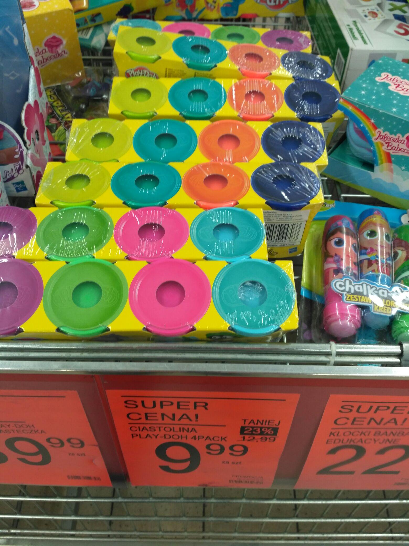 Play-Doh tuba 4-pak Biedronka