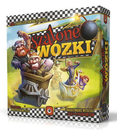 Gra Szalone Wózki portal games W super Cenie (rozrywaka dla całej rodziny)