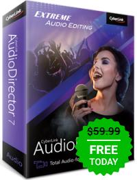 AudioDirector7 LE za Free