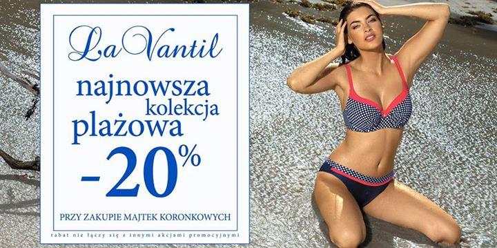 -20% na kolekcję plażową @ La Vantil