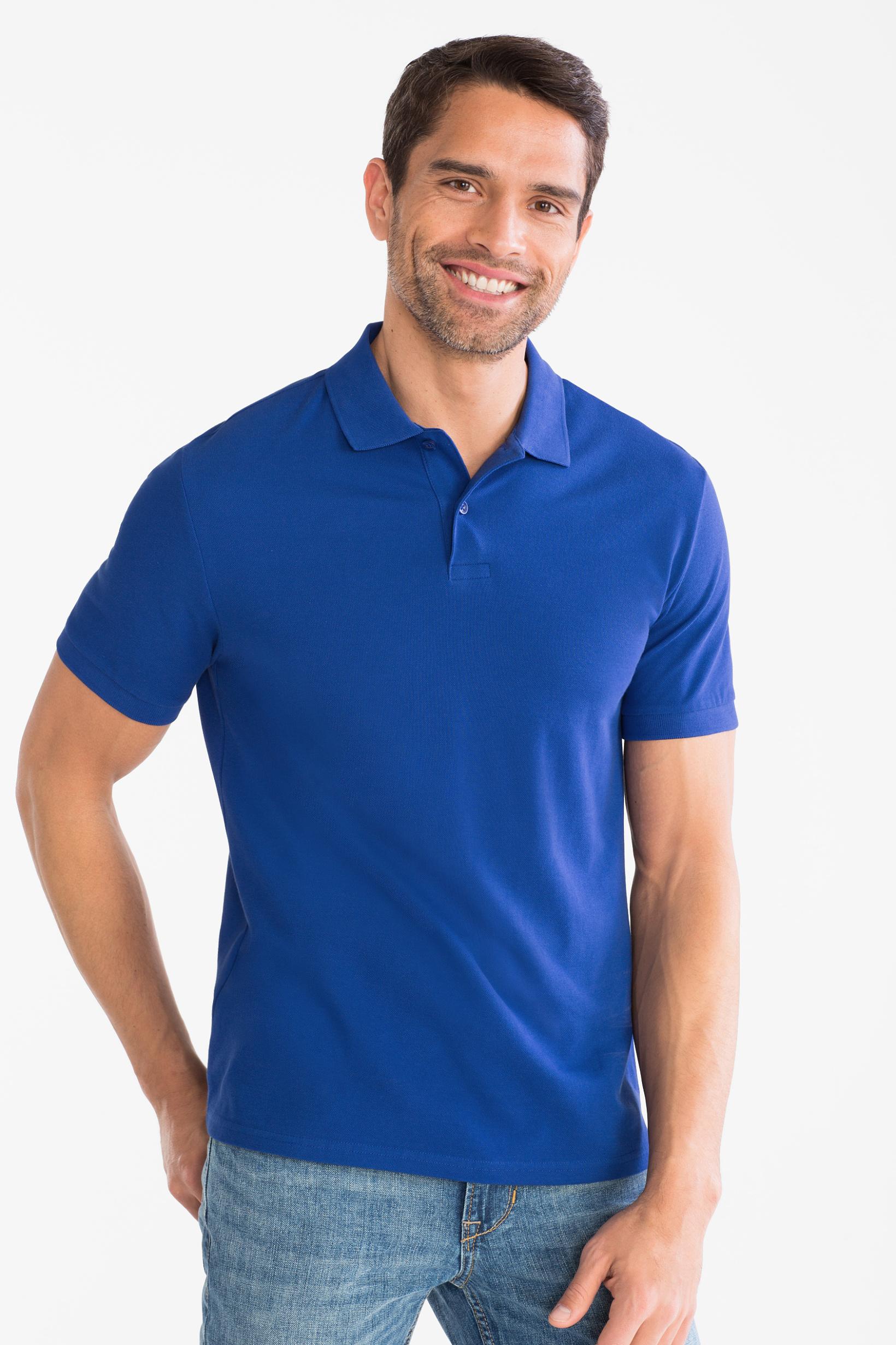 Męskie koszulki polo po 15zł (7 kolorów, pełna rozmiarówka) @ C&A