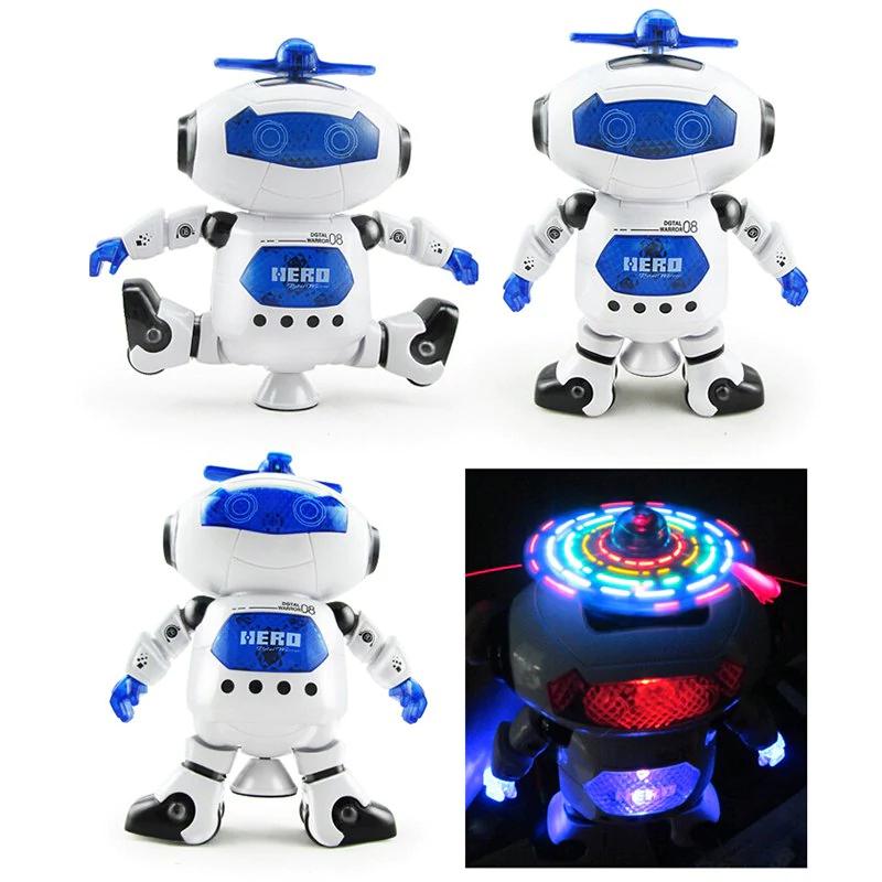 Tańczący, grający, świecący Robot @Gamiss