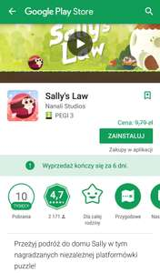 Sally's Law /Android/ Gra