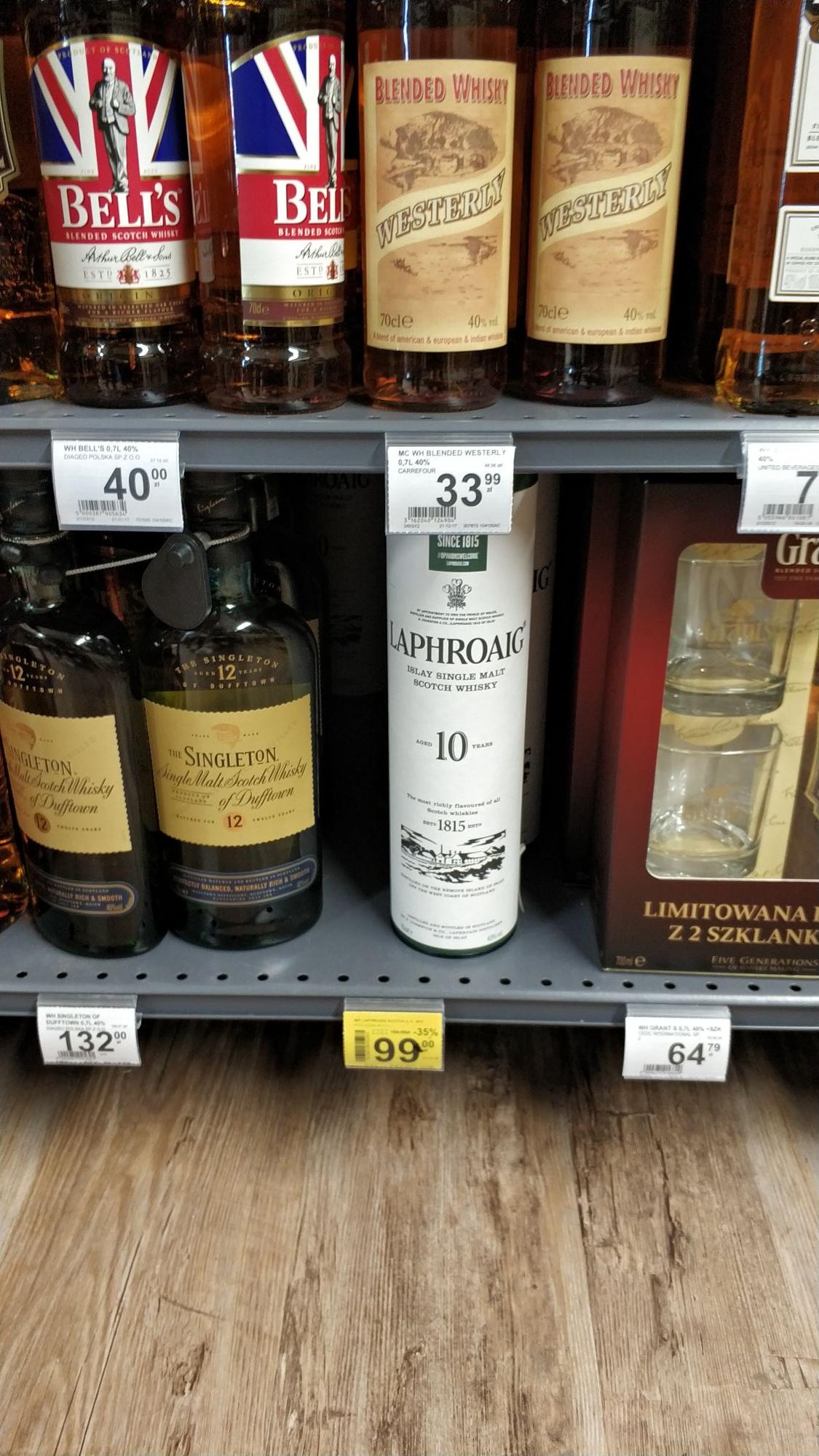 Whisky Laphroaig 0,7 Single Malt