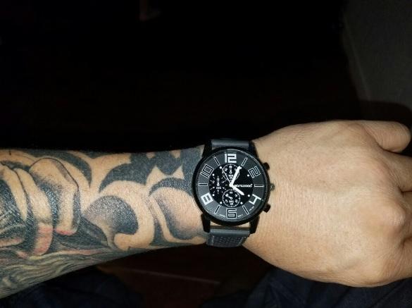 Każualowy zegarek męski za free, płatna tylko wysyłka.