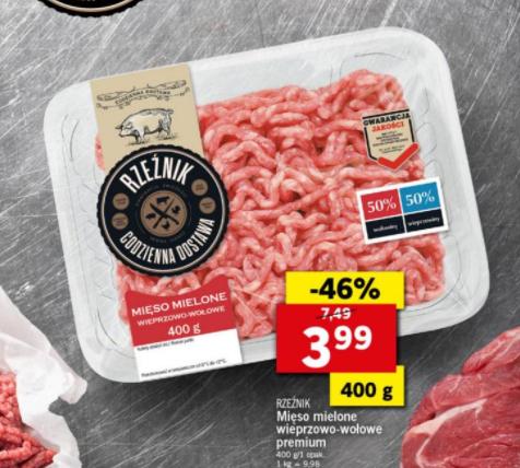 Lidl Mięso mielone wieprzowo-wołowe premium 400 G