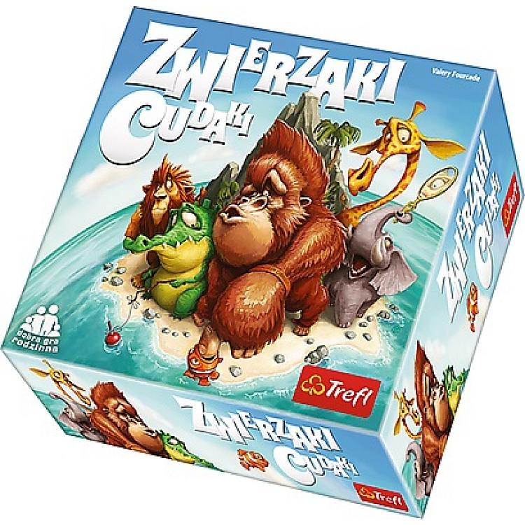 Gra planszowa dla dzieci Zwierzaki Cudaki @ smyk.com