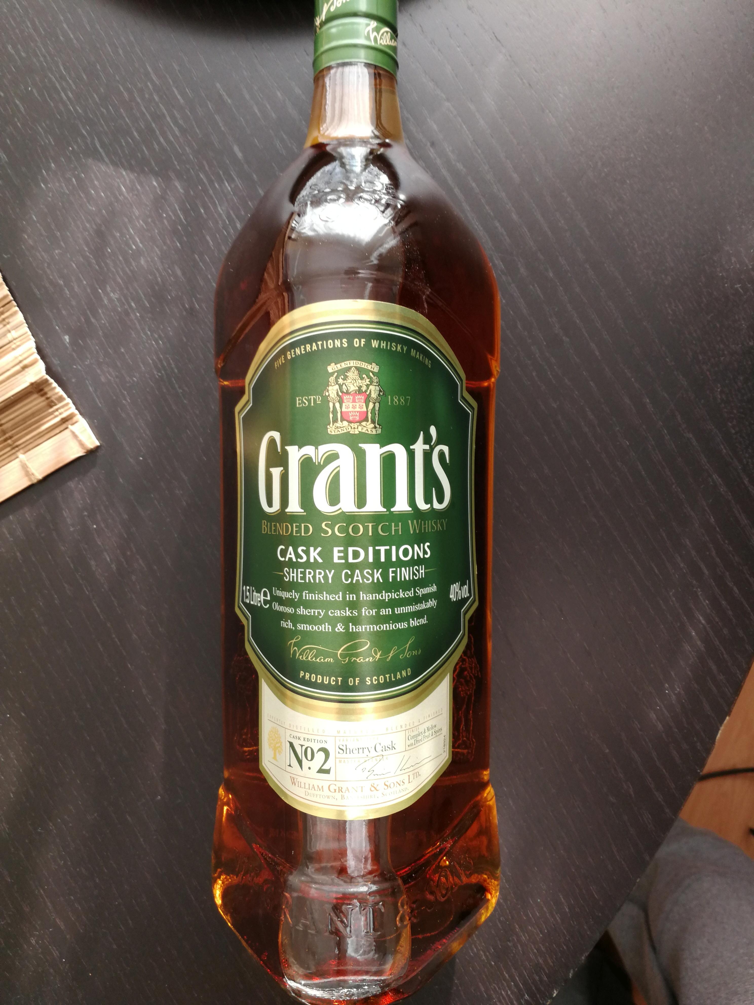 Lidl - Grant's Green/Blue 1.5L za 89,99zł
