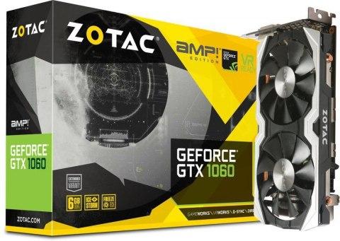 Karta graficzna Zotac GeForce GTX 1060 AMP! 6GB