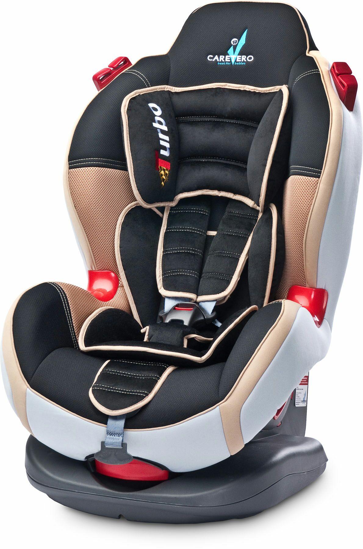 Caretero, Sport Turbo, fotelik samochodowy, 9-25 kg, Cappuccino