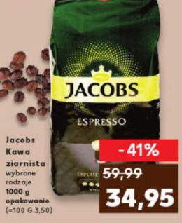 Jacobs kawa ziarnista - Kaufland