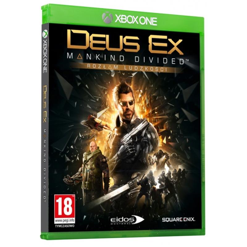 Deus Ex: Rozłam Ludzkości, NBA2K17 XBOX ONE