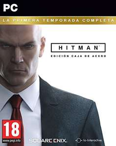 Gra na PC Hitman Hitman The Complete First Season (Kompletny Pierwszy Sezon) Steelbook @Amazon.es